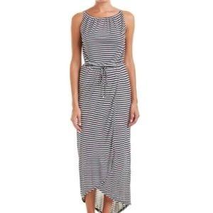 Cabi New Addition Boat Stripe Medium Maxi Dress
